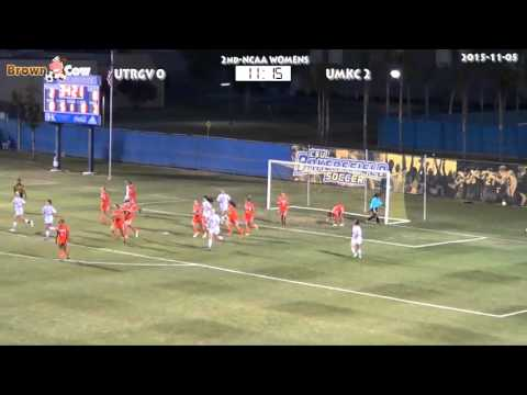20151105 NCAA Womens Soccer   UTRGV v UMKC 2nd Half