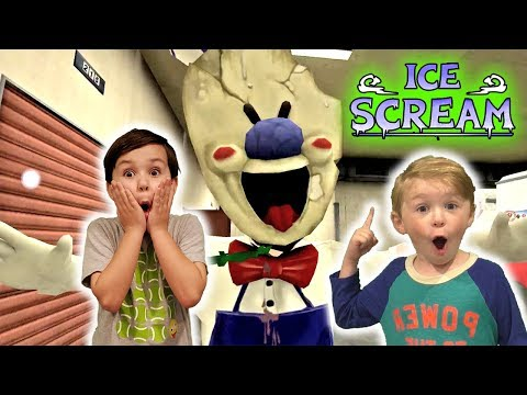 Ice Scream Gameplay 1.1 Solved! We Save The Fat Kid From The Killer Ice Cream Man