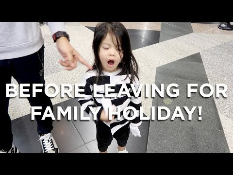 Before leaving for family holiday! | Vivy Yusof