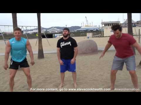 Swoldier Nation - Trainer Edition - Body Weight Beach Workout
