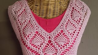 คลิปที่2เสื้อถักสับปะรดกลับหัวสีม่วงอ่อน