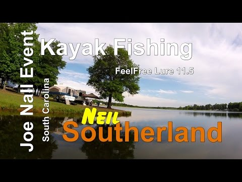 Joe Nall Fishing Day 1 from my FeelFree kayak Lure 11.5