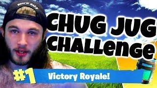 Fortnite: CHUG JUG CHALLENGE *vomit alert*