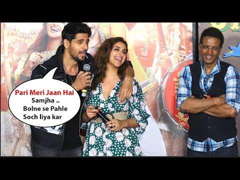 Siddharth Malhotra Making Fun Of Parineeti Chopra | Jabariya Jodi Trailer Launch Mp3