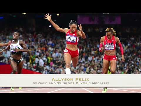 Allyson Felix - Proactive Health Habits