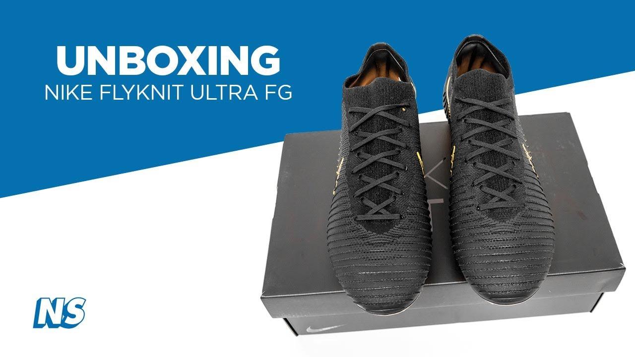 fe11cbd8232 Nike Flyknit Ultra FG Gold Unboxing by Niky s Sports - YouTube