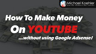 Get tubemillionaire here: https://goo.gl/mptwz2 in this tutorial i am going to show you how make money on without adsense. here is my vide...