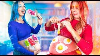 Sıcak Hamile vs Soğuk Hamile! Komik Hamile Durumla