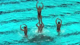Синхронное плавание в Казани, наша команда.