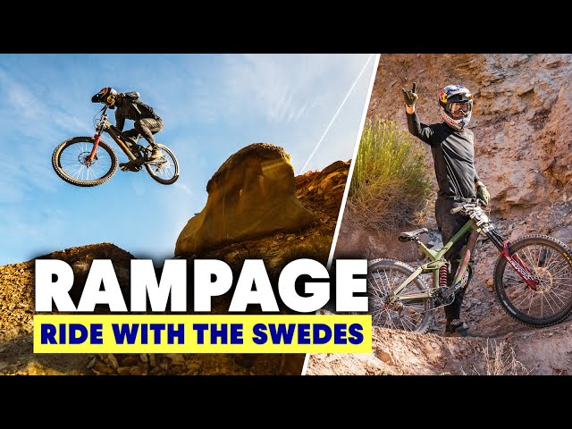 Emil Johansson Heads To Red Bull Rampage For The First Time! | Ride With The Swedes S2E5