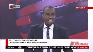 REPLAY - JT Français 20h - Pr : CHEIKH TIDIANE DIAHO - 14 Novembre 2018