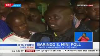 IEBC officers are making their final touches as Baringo South prepares to elect a new MP