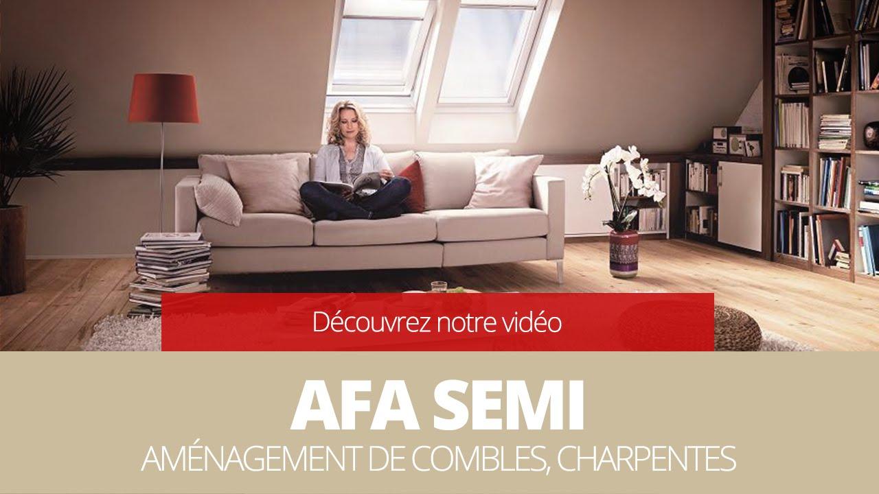 Aménagement de combles, charpentes 27 - 28 - 76 - 78 - AFA SEMI ...