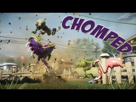 Plants VS Zombies: Garden Warfare - Getting Chomped