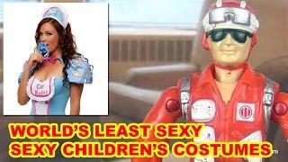 Worst Sexy Children's Halloween Costumes