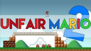 THIS GAME IS TOO HARD FOR ME(unfair mario ep.2)