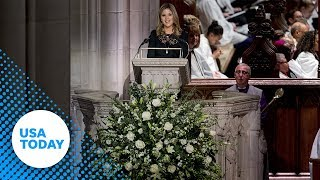 Jenna Bush Hager reads scripture about Heaven for 41