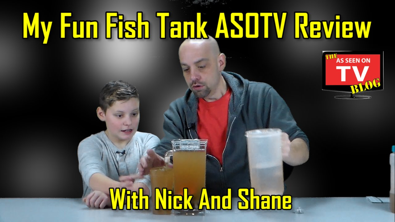 my fun fish review with nick and shane does my fun fish really work as seen on tv blog. Black Bedroom Furniture Sets. Home Design Ideas