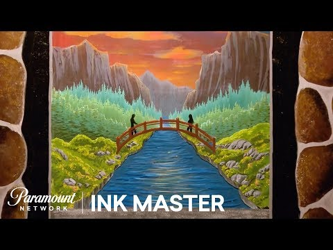 Dimension: A Pane in the Glass - Flash Challenge   Ink Master: Return of the Masters (Season 10)