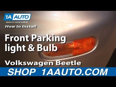 How to Replace Corner Light 98-01 Volkswagen Beetle