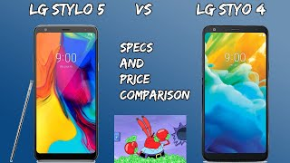 LG Stylo 5 Vs LG Stylo 4 Spec and Price Comparison