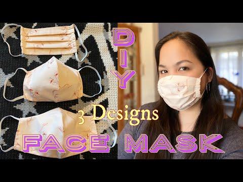 DIY Face Mask | Handmade Face Mask #DIYFacemask #HowtomakeFaceMask #CoronaVirus #Convid19 #DIY - YouTube