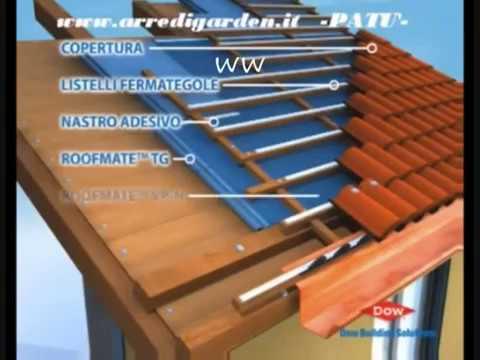 Tetto ventilato in legno youtube for Montaggio tetto in legno ventilato