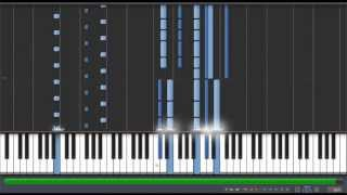 feather in dreams tori no uta air piano tutorial synthesia