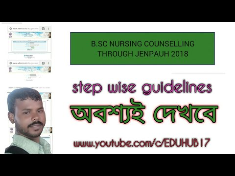 B.sc nurshing Counselling 2018  step-wise  jenpauh Counselling guidelines