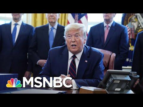 President Donald Trump Invokes Defense Production Act To Manufacture Ventilators | Deadline | MSNBC