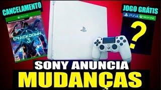 SONY REVELA NOVO PS4! JOGOS GRÁTIS Correee & BF5 OPEN BETA! (Noticias - PS4/XBOX)