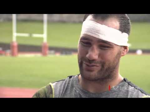 Warriors' Bodene Thompson dedicated to being a dad