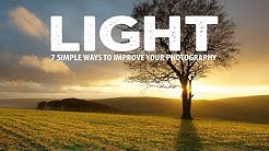 7 SIMPLE ways to MASTER LIGHT in your PHOTOGRAPHY