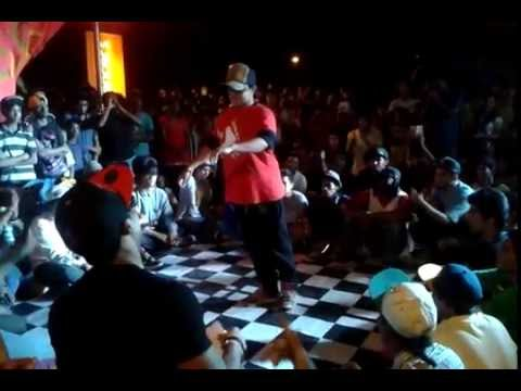 Tushar a.k.a CC || Popping freestyle || 2014