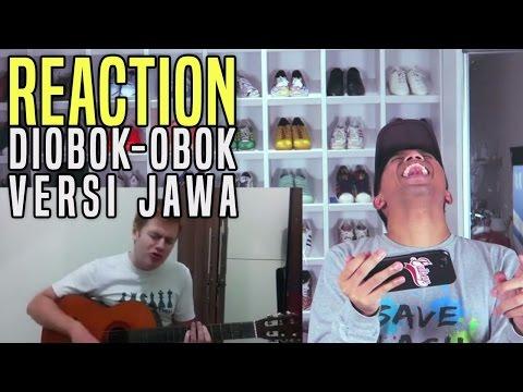 BULE NYANYI DIOBOK OBOK BAHASA JAWA (Reaction Video)