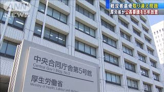 遺骨「日本人ではない」専門家指摘も・・・厚労省が放置(19/12/23)