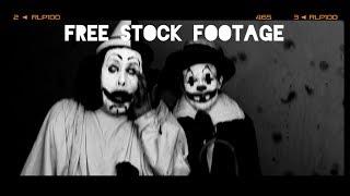 'CREEPY CLOWNS' Free Stock Footage