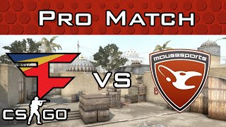FaZe vs mousesports on Dust2