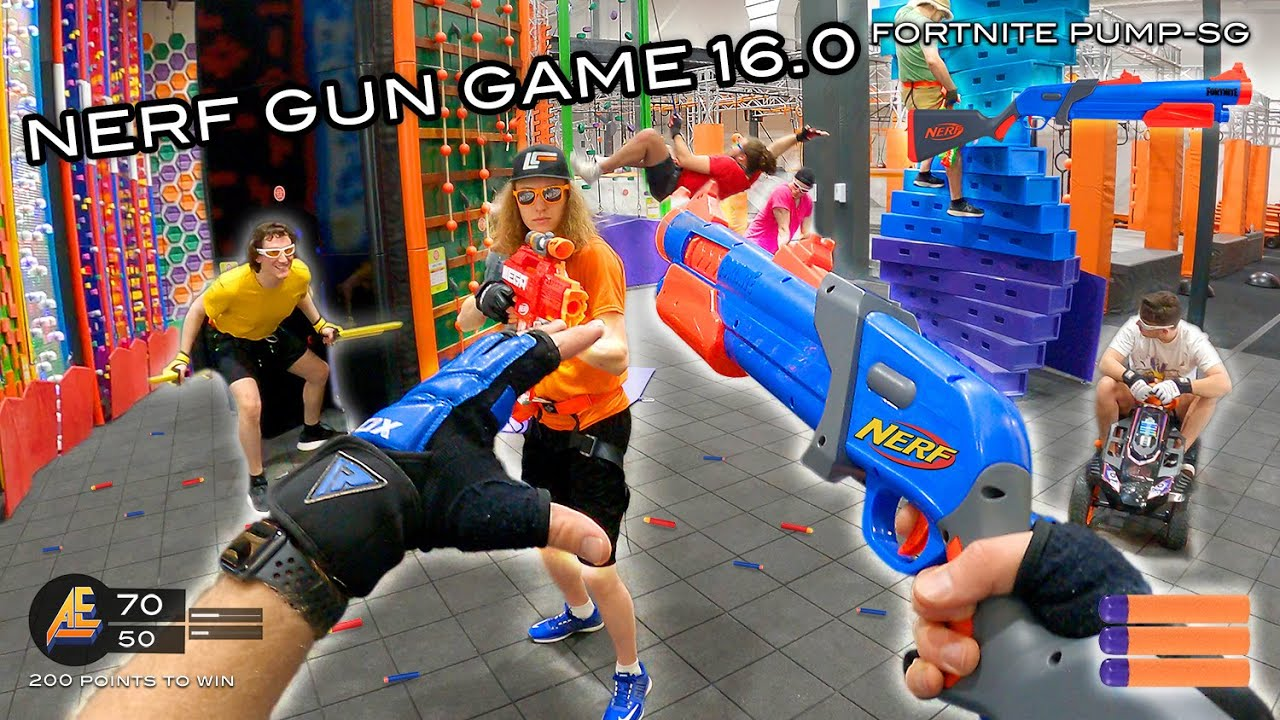 NERF GUN GAME 16.0 | (Nerf First Person Shooter!)