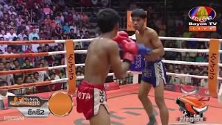 ទូច ដេវីត Vs លាង ភារម្យ, 31/August/2018, BayonTV Boxing | Khmer Boxing Highlights