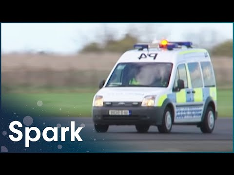 Airport Police Rush To Fire Near Runway | Dublin Airport | Spark