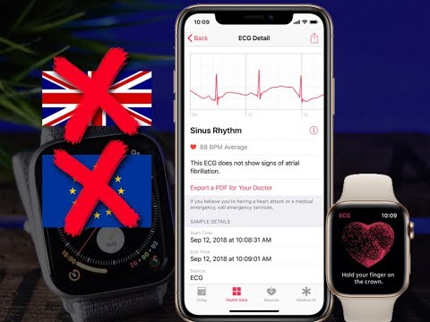 Apple Watch Series 4 NEW ECG APP - Here is The Reason You Can't Get it Outside The US