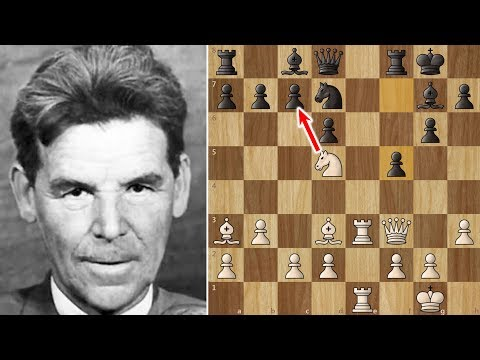 Just a Nezhmetdinov Game to Brighten Your Day :)