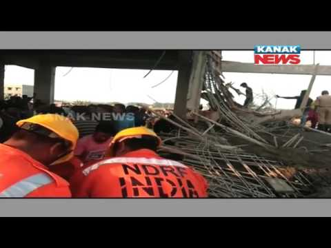 Roof of Under Construction Building Collapses In Balasore, 6 Critically Injured