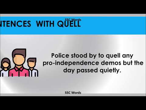 quell---improve-english---meaning-and-5-sentences---gre-/-cat-/-gmat-word---ssc-words
