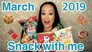 Snack with Me/March 2019... I can't eat that!!!!