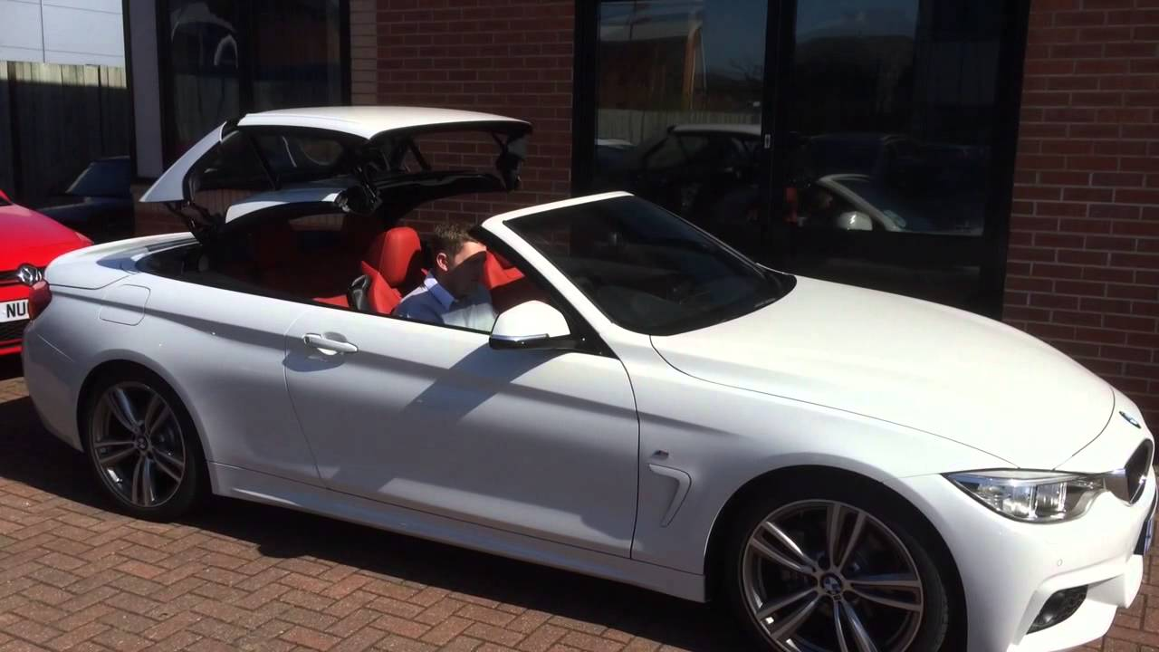 bmw 4 series convertible roof operation youtube. Black Bedroom Furniture Sets. Home Design Ideas