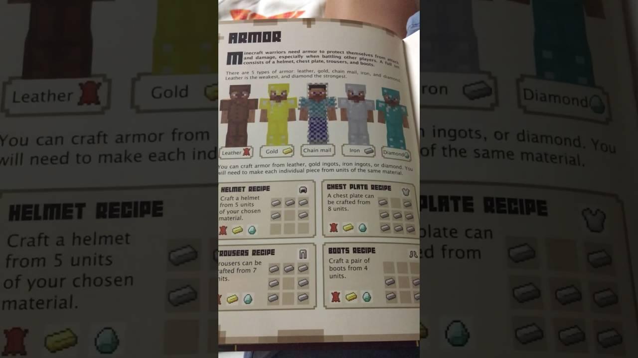 Minecraft : Combat Handbook page 14~ page 18