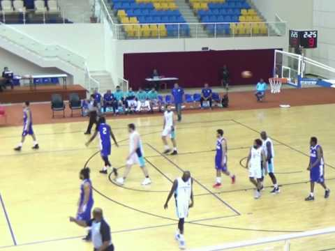 Al Wakra vs. Al Khor (Qatar Basketball League 2017) Kayode Ayeni 60 point full game