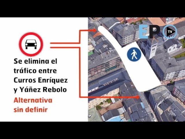 A Milagrosa sumará otra calle peatonal con el cierre de la plaza
